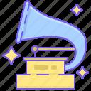 award, gramophone, music, trophy icon