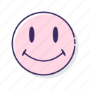 acid, emoji, house, smiley icon