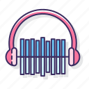 beat, big, headphone, sound icon