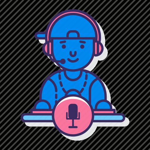 bootleg, dj, music, recording icon