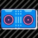 dj, mixer, set, turntable icon