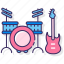 bass, drum, instrument, music
