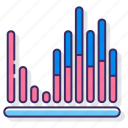 bar, equalizer, filthy, statistics icon