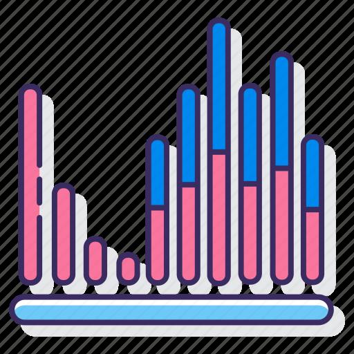 bar, equalizer, filthy, statistics icon