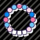 beads, bracelet, festival, kandi
