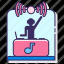 concert, live, set, show icon