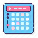 controller, launchpad, music, pad icon