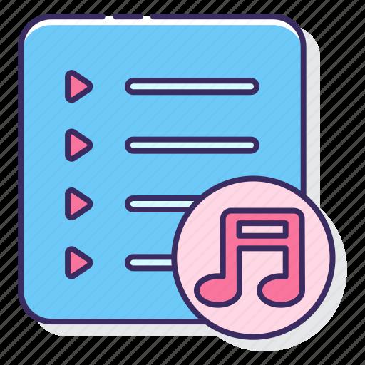 media, music, player, playlist icon
