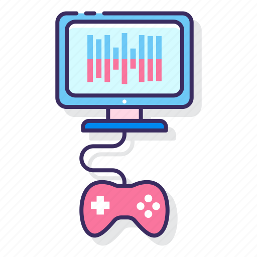 audio, game, music, video icon