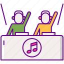 b2b, party, dj, music