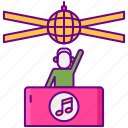 club, party, dj, music
