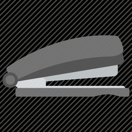 office supplies, paper stapler, stapler, stationery, tool icon
