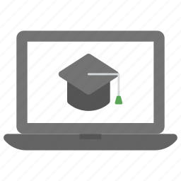 distance learning, e learning, online degree, online education, virtual education icon