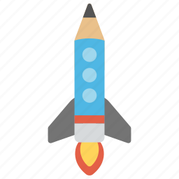 back to school, creative startup, creativity, project startup, smart education icon