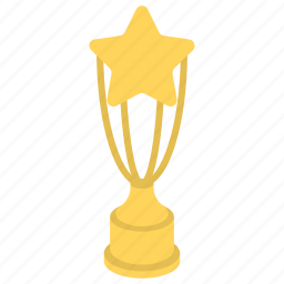 award trophy, passion to compete, start trophy, success, trophy icon