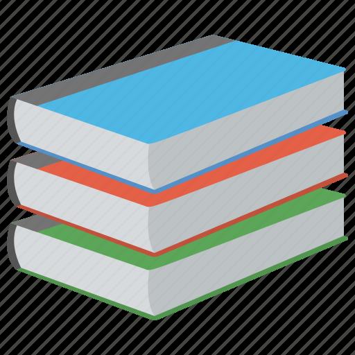 books, education, literature, notebooks, study icon