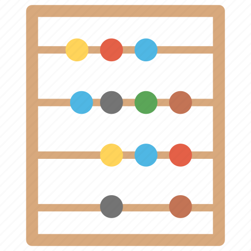 abacus, adding, calculating frame, calculator, old calculator icon