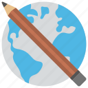 e learning, global development, global education, world education, world learning icon