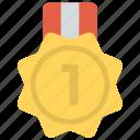 achievement, championship, first placement, gold medal, success