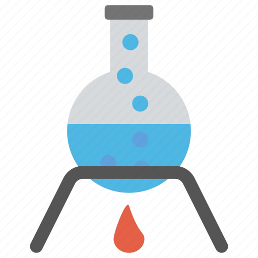 chemical flask, lab experiment, lab flask, lab research, laboratory icon