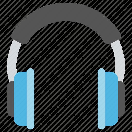 call center, customer service, customer support, headphones, music listening icon