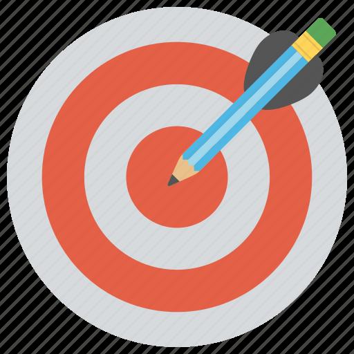 dart, dartboard, goal, objective, target icon