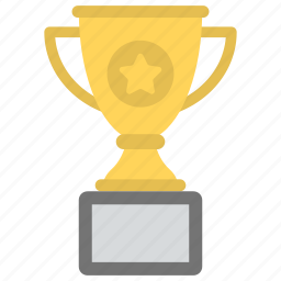 award trophy, passion to compete, success, trophy, winning cup icon