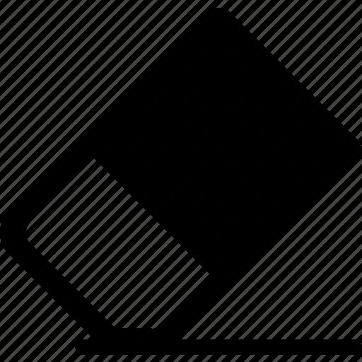 delete, eraser, remove, text icon icon
