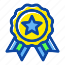 award, badge, education, school, star, winner icon