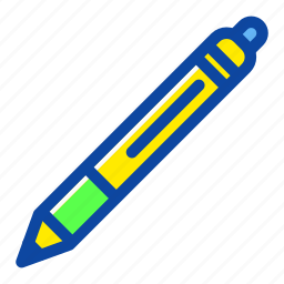 draw, education, office, pen, school, write icon