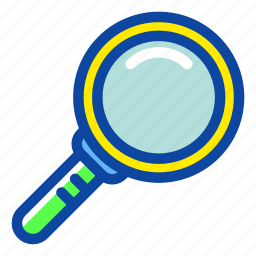 education, lup, magnify, research, school, science, zoom icon