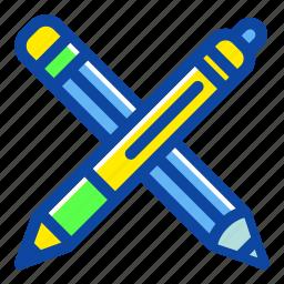 draw, education, office, pen, pencil, school, write icon