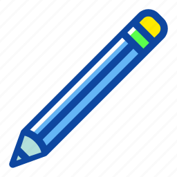 document, draw, education, office, pencil, school, write icon