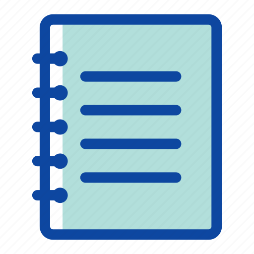 book, document, education, learn, note, page, school icon