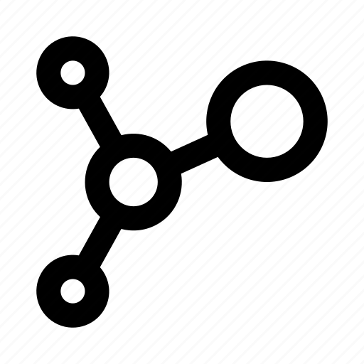chain, chemistry, connection, constellation, formula, galaxy icon