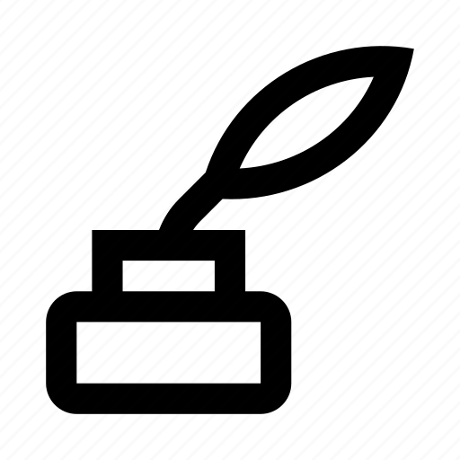 ink, pen, text, write, writing icon