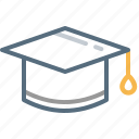 graduate, postgraduate, student, university icon