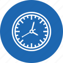 alarm, clock, on, time icon