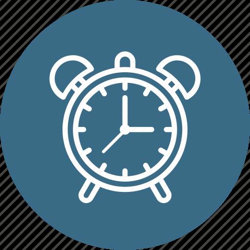 alarm, clock, notification, time icon