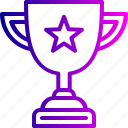 achievement, award, champion, prize, success, trophy, winner icon