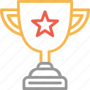 achievement, award, champion, prize, success, trophy, winner icon