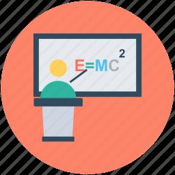 einstein formula, emc2 formula, physics formula, scientific formula, theory of relativity icon