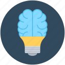 creative mind, idea, innovation, intelligence, mind icon