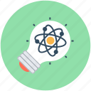 bulb, creativity, idea, light bulb, science innovation icon