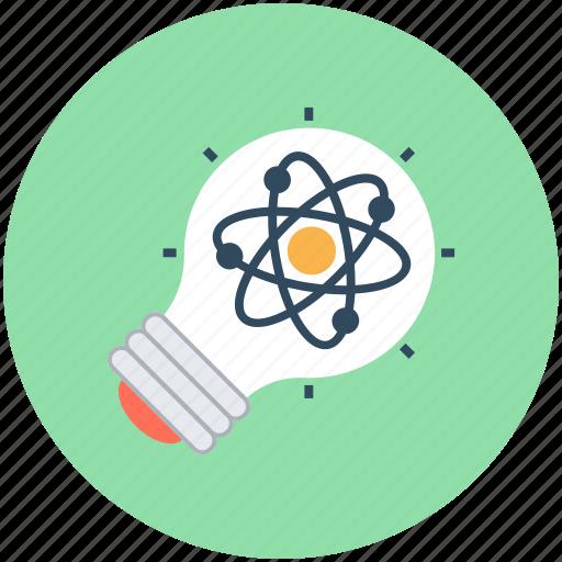 bulb, creativity, idea, light bulb, science innovation icon