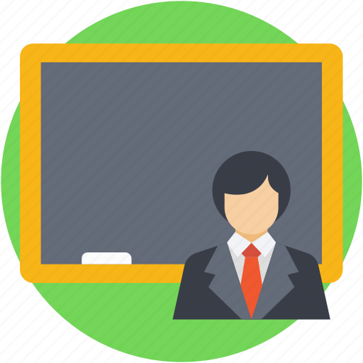 classroom, professor, teacher, teaching, tutor icon