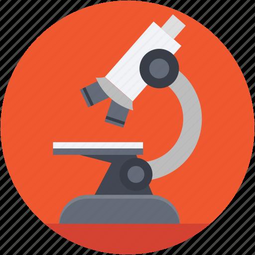 lab equipment, laboratory, microscope, research, science icon