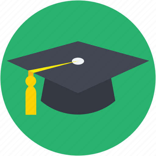 awarded cap, commencement, degree cap, graduate cap, mortarboard icon