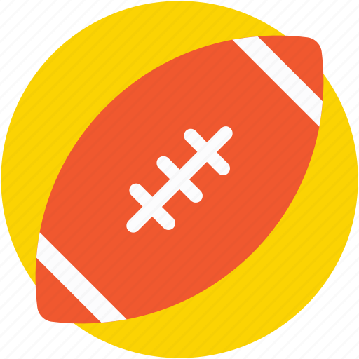 american football, ball, rugby, rugby ball, sports ball icon