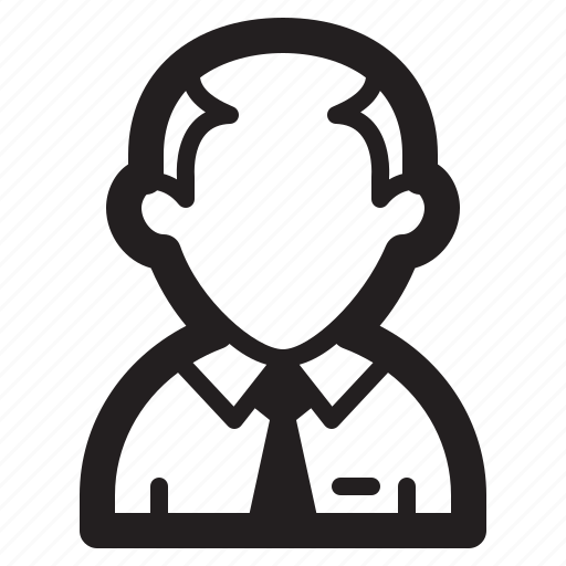 avatar, man, professor, school, teacher, user icon